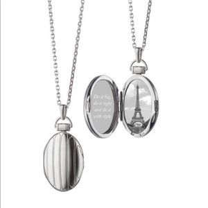 Monica Rich Kosann Sterling Petite Locket